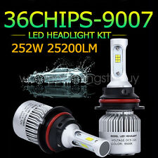 252W HB5 9007 25200LM CREE Led Headlight Kit HI/LOW Beam White 6000K Blub SP Way
