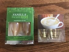 Lot of 4 Bath & Body Vanilla & Pumpkin Wallflowers Home Fragrance Refill Bulbs
