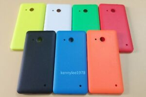 For Microsoft Nokia Lumia 550 Back Battery Cover Rear Housing Door Shell Case