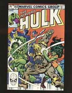 Incredible Hulk # 282 NM- Cond.