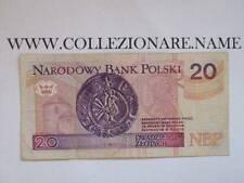 BANKNOTE BANCONOTA 20 NARODOWY POLSKI (G1-32) (E)