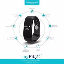 New myFit momentum Fitness Activity Tracker sleep heart rate monitor