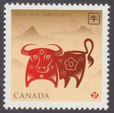 Canada 2009 #2296 Year of the Ox - MNH