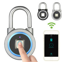 Cadenas À Empreinte De Sécurité Antivol Contrôle App Mobile Et Bluetooth