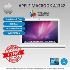 Apple Macbook A1342 Uni-Body CORE 2 Duo a 2.26ghz-2.4ghz 2GB 250GB DVD SIERRA OS