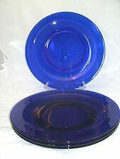 """Arcoroc SAPHIR Smooth Rim Set of 4-11 5/8"""" Large Dinner Plates Chargers France"""