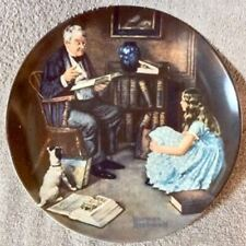 Rockwell Collectors Plate - The Storyteller - Lot Plate