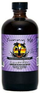 SUNNY ISLE - Original Jamaican Black Castor Oil / LAVENDER /  Rizinusöl 236ml