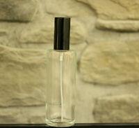 Parfum GLAS Flakon Flasche Rund +Zerstäuber Leer Nachfüllbar 100 ml NEU