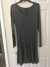 ca2c7e5af731 APT 9 Women's A-Line Stretch Knit Gray Pullover Sweater Dress Flare Size  Medium