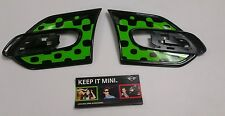 Genuine Mini R55 R56 One Cooper S Lado verde intenso huida indicador Trim Set