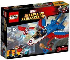 LEGO SUPER HEROES MARVEL CAPTAIN AMERICA JET PURSUIT 76076 - NUEVO, SIN ABRIR
