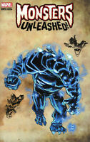 Monsters Unleashed #5 New Monster Wraparound Variant  Marvel