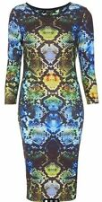 Topshop Casual Regular Size 3/4 Sleeve Dresses for Women