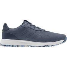 NEW Mens Adidas S2G Spikeless 2021 Golf Shoes Crew Blue/Navy/Yellow Sz 11.5 M