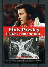 Montserrat 2016 MNH Elvis Presley King Rock 'n Roll 1v S/S Music Stamps