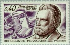 EBS France 1968 Pierre Larousse, Linguist and Lexicographer YT1560 MNH**