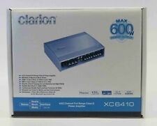 Clarion XC6410  600W 4/3/2-CHANNEL POWER AMPLIFIER