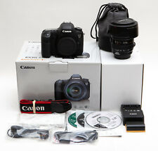 Canon EOS 6D 20.2MP Digital SLR Camera + 24-105mm f/4L IS * LOW USE (USA Model)