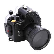 Meikon 40M Waterproof Underwater Housing DSLR Camera Case For Nikon D500 & 105mm