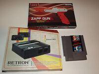 NEW RETRO SYSTEM WITH CLASSIC NINTENDO NES MARIO BROS/DUCK HUNT & NEW ZAPP GUN