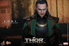 Hot Toys 1/6 Marvel Thor The Dark World Mms231 Loki Masterpiece Action Figure