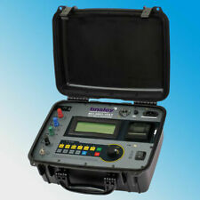Tinsley Mo 5893 10at Portable Digital Micro Ohmmeter Dlro 10 Amps Temperature