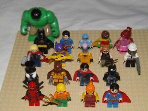 LEGO MINI FIGURES MARVEL DC SUPER HEROES BATMAN MOVIE FIGURE LOTS TO CHOOSE FROM
