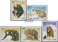Afghanistan 1675-1679 (kompl.Ausg.) postfrisch 1996 Bären