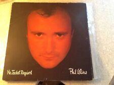 Phil collins - no jacket required - excellent condition vinyl album