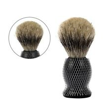 100% Pure Black Badger Hair Shaving Brush for Men's For All Skin Types