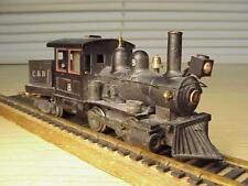 Kemtron type BRASS HO Olde Tyme Steam Loco 0-4-0 & Custom Tender VG+Deal!