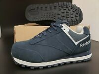 Reebok Navy LEELAP Steel Toe Oxford Shoes Men's Size 6W US/Women's 8W US
