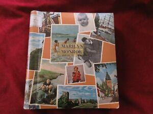 Marilyn Monroe Vintage Scrapbook XIV. 42 pages.