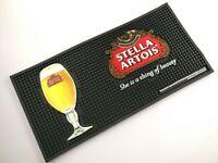 New STELLA ARTOIS Rubber Beer Mat Bar Mat Spill Mat Bar Runner drip mat bar tool