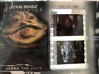 2019 Star Wars Masterwork Jabba The Hut 1/1 Film Cel Relic Return of the Jedi