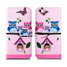 For Iphone 7G Plus 8G Plain print Book Wallet Opening Protect Phone Case Covers