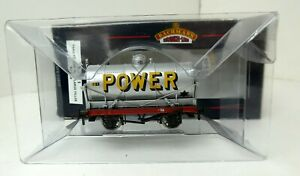 Bachmann 33-675 Tank Wagon with Large Filler POWER silver boxed OO (g)