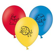 """Circus Animals   12""""  Assorted Colours  Printed Latex Balloons pack of 25"""