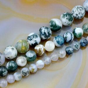 Natural Ocean Jasper Gemstone Round Spacer Beads 16'' 4mm 6mm 8mm 10mm