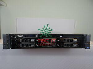 Dell PowerEdge R710 Server DUAL 2X6 Cores X5680 144GB-RAM 6X2TB H700 Rack-Rails