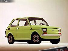 Fiat 126 Paraurti Anteriore, Front Chrome Bumper
