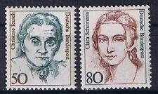 Bund MiNR 1304 + 1305 Freimarke Frauen der deutschen Geschichte postfrisch **