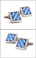 blu cristallo GEMELLI CAMICIA UOMO Crystal Swarov.CERIMONIA matrimonio G/11