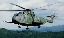 Sikorsky HH-3E Jolly Green Giant Helicopter Desktop Wood Model Large