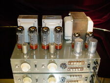 Beautiful MusiCraft Stereo EL34/6CA7 Tube Amplifier Model MS-30-30 MS3030 EXC+