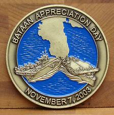 USS Bataan (LHD-5) (CVL-29) Challenge Coin Death March