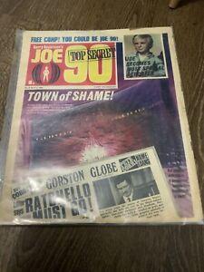 Vtg Comic Gerry Anderson Joe 90 No 16 May 3 1969 #16 Retro Vgc alternative cover