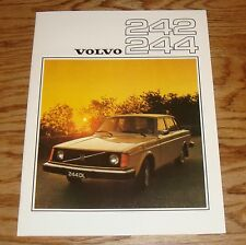 Original 1976 Volvo 242 & 244 Sales Brochure 76