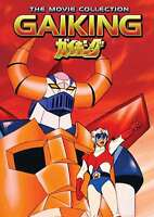 New: GAIKING - The Movie Collection (Japanese Anime) 2-Disc DVD Set